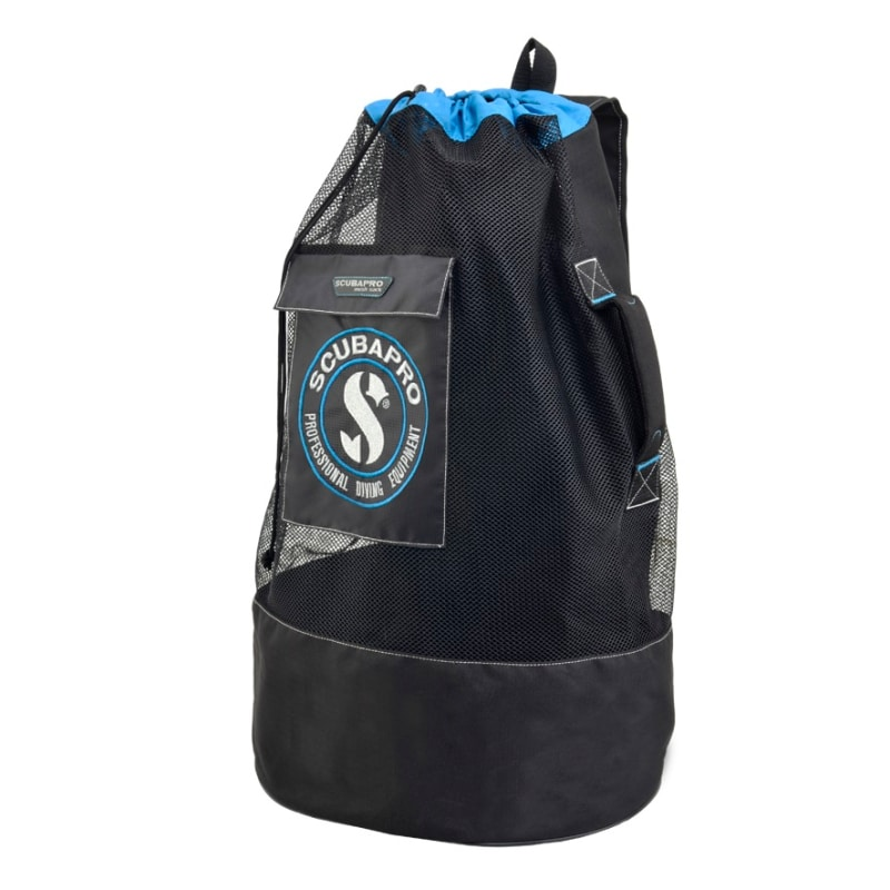 Mesh Sack OneSize, Black/ Blue