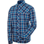 Haglofs astral ls shirt hurricane blue gale