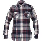 Bergans bjorli lady shirt midnightblue burg check
