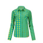 Ortovox rock n wool dc shirt l sleeve happy green