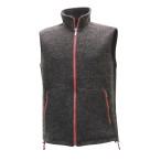 Ivanhoe tord vest graphite marl