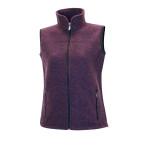 Ivanhoe beata vest dark purple