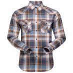 Bergans bjorli shirt nightblue desert check