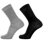 Devold start sock 2pk flint black