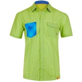 Ortovox rock n wool cool shirt short s happy green