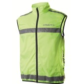 Craft active run safety vest neon