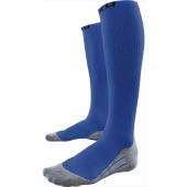 2xu men s compression race sock blue grey