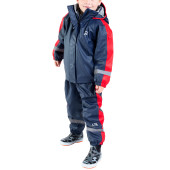 Urberg kid s insulated rainset blue red