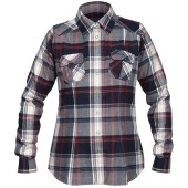 Bergans bjorli lady shirt midnightblue burg check