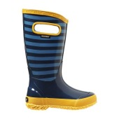 Bogs rainboot kids stripe blue