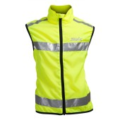 Swix flash reflective vest juniors gul