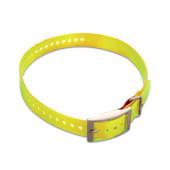 Garmin collar strap yellow gul