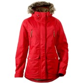 Didriksons covert women s jacket red