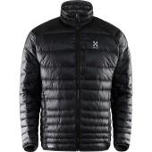 Haglofs essens iii down jacket men s true black magnetite