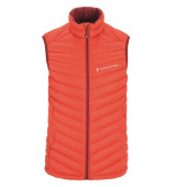Peak performance men s frost down liner vest flame red