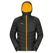 Jack wolfskin whiteline downfiber jacket m black