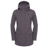 The north face w nse jacket graphite grey