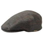 Stetson kent wool ef green brown pattern
