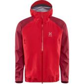 Haglofs roc spirit jacket real red rubin