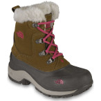 The north face girl s mcmurdo boot sepia brown demitasse brown