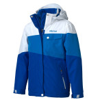 Marmot girl s moonstruck jacket gem blue white