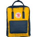 Fjallraven kanken navy warm yellow