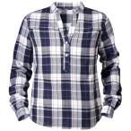 Tierra moyie check female shirt blue