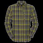 Jack wolfskin maitland ii shirt ls m dark steel checks