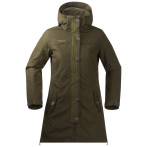 Bergans harstad ins lady jacket dark olive