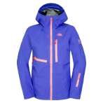 The north face women s free thinker jacket tech blue
