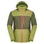 The north face men s sickline jacket forest night green