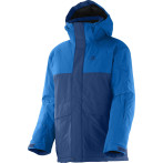 Salomon chillout jr jacket b midnight blue union blue