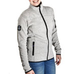 Urberg wmn s knitted fleece jacket offwhite