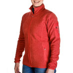 Urberg wmn s knitted fleece jacket coral