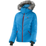 Salomon icetown jacket w methyl blue