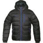 Bergans gala down jacket black cobalt blue