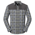 Jack wolfskin saint elmos xt vent shirt m burnt olive checks
