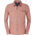 The north face m l s gilgit shirt dune beige plaid