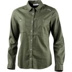Lundhags jaksa solid ls ws shirt forest green