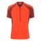 Peak performance men s balkka zipped t shirt flame red