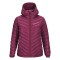 Peak performance women s frost down hooded jacket dk orchid